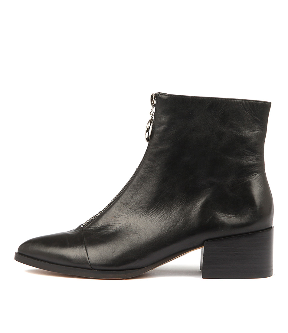 Mollini Dentons Black Ankle Boots