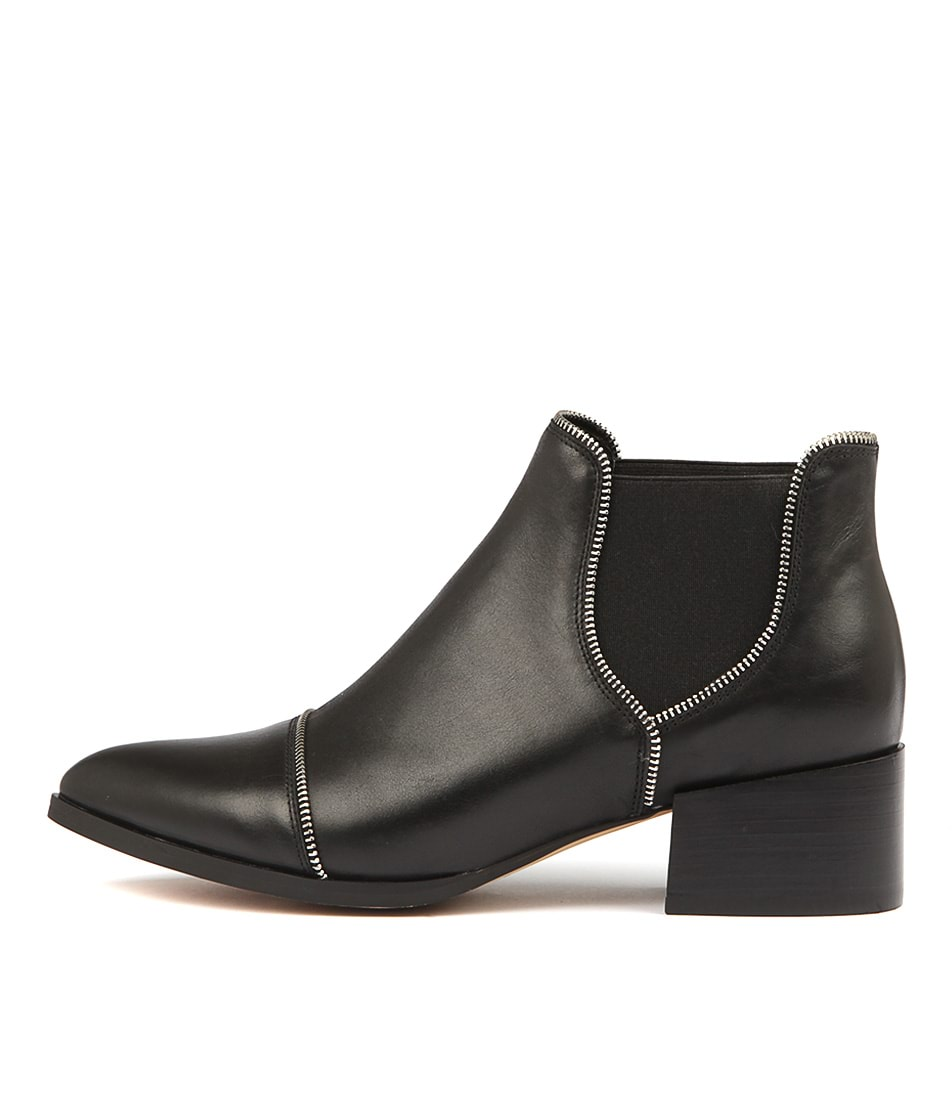 Buy Mollini Diesels Black Ankle Boots online with free shipping