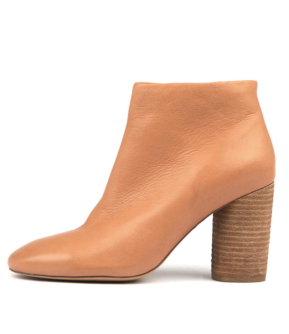 Mollini Erland Dk Tan Ankle Boots