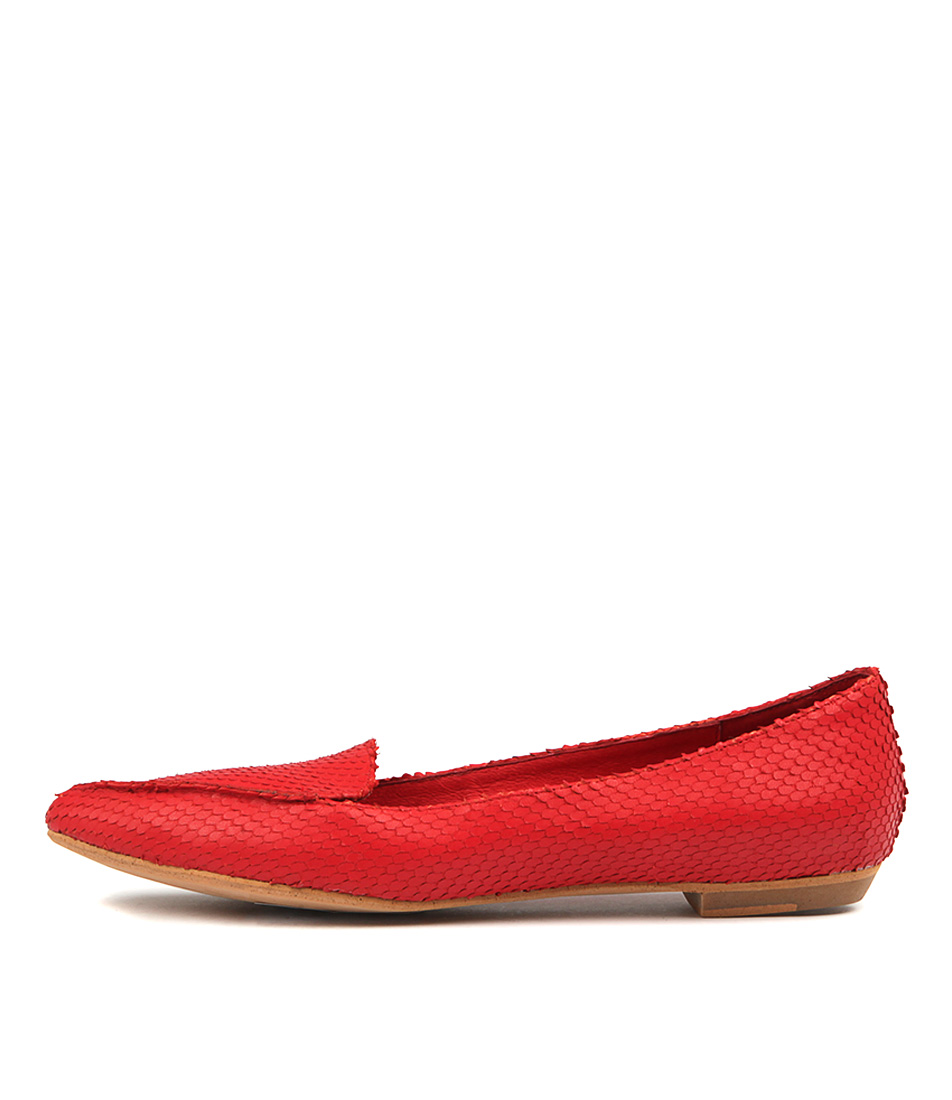 Mollini Gyross Red Flat Shoes