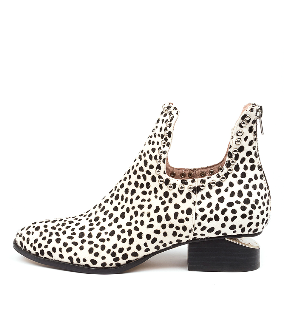 Buy Mollini Iluey Snow Leopard Ankle Boots online with free shipping