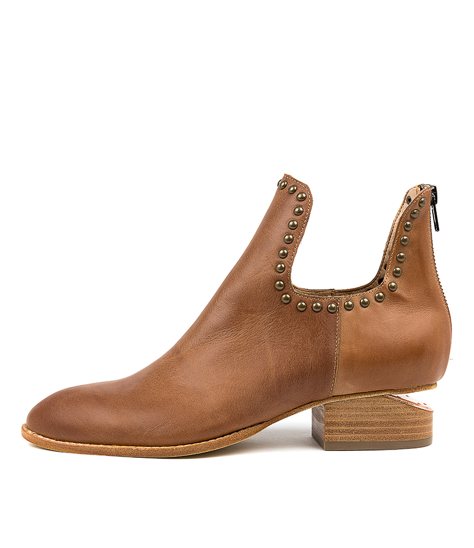 Buy Mollini Iluey Tan Ankle Boots online with free shipping