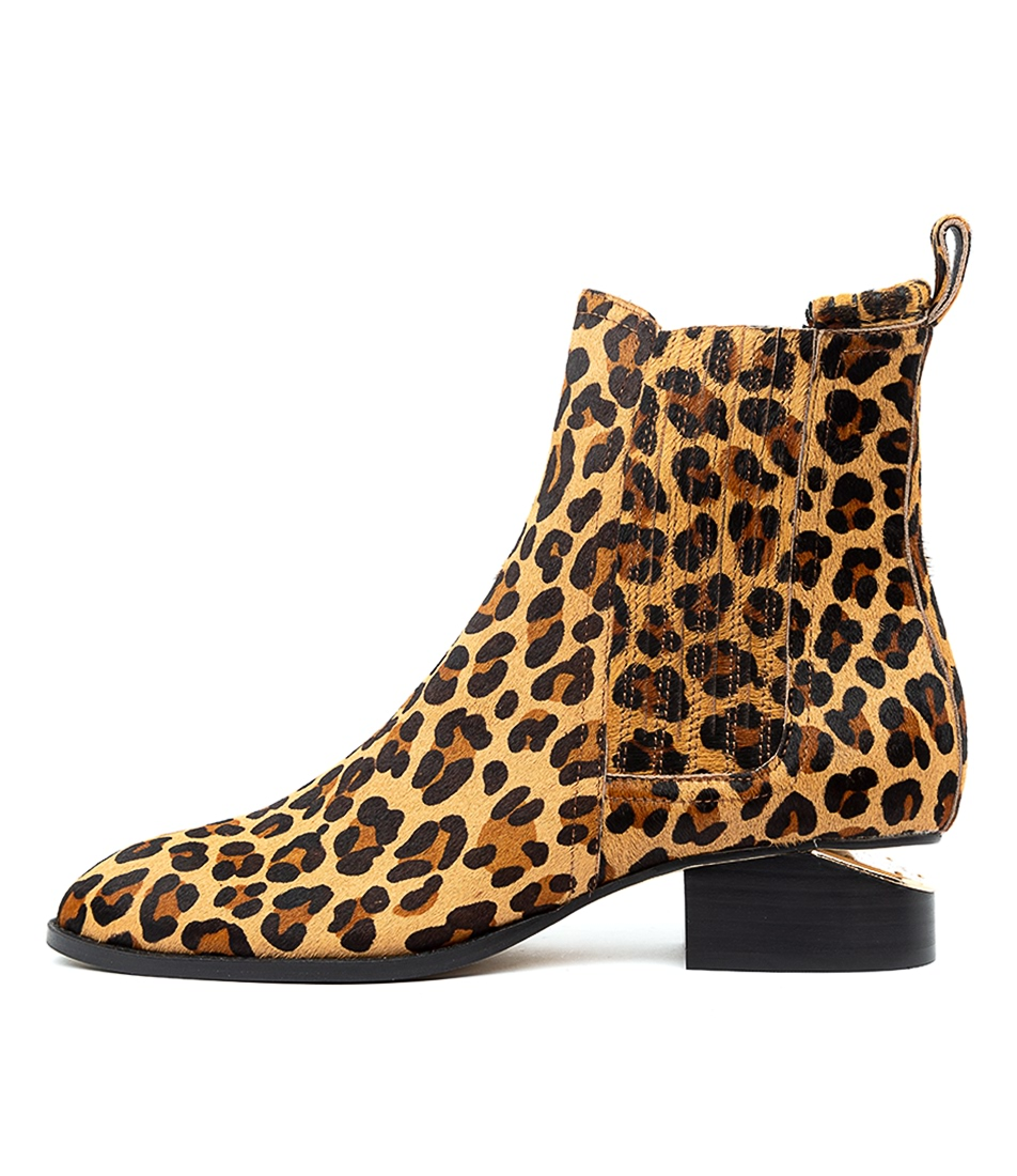 Buy Mollini Isoly Ocelot Ankle Boots online with free shipping