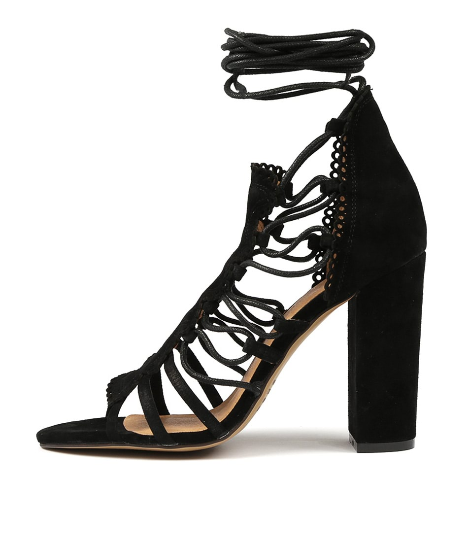 Buy Mollini Malbi Black Heeled Sandals online with free shipping
