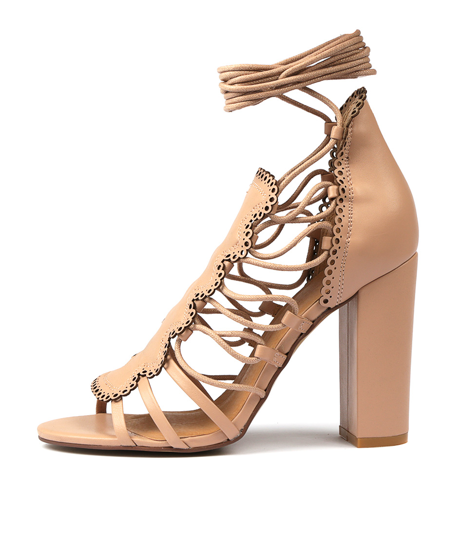 Buy Mollini Malbi Skin Heeled Sandals online with free shipping