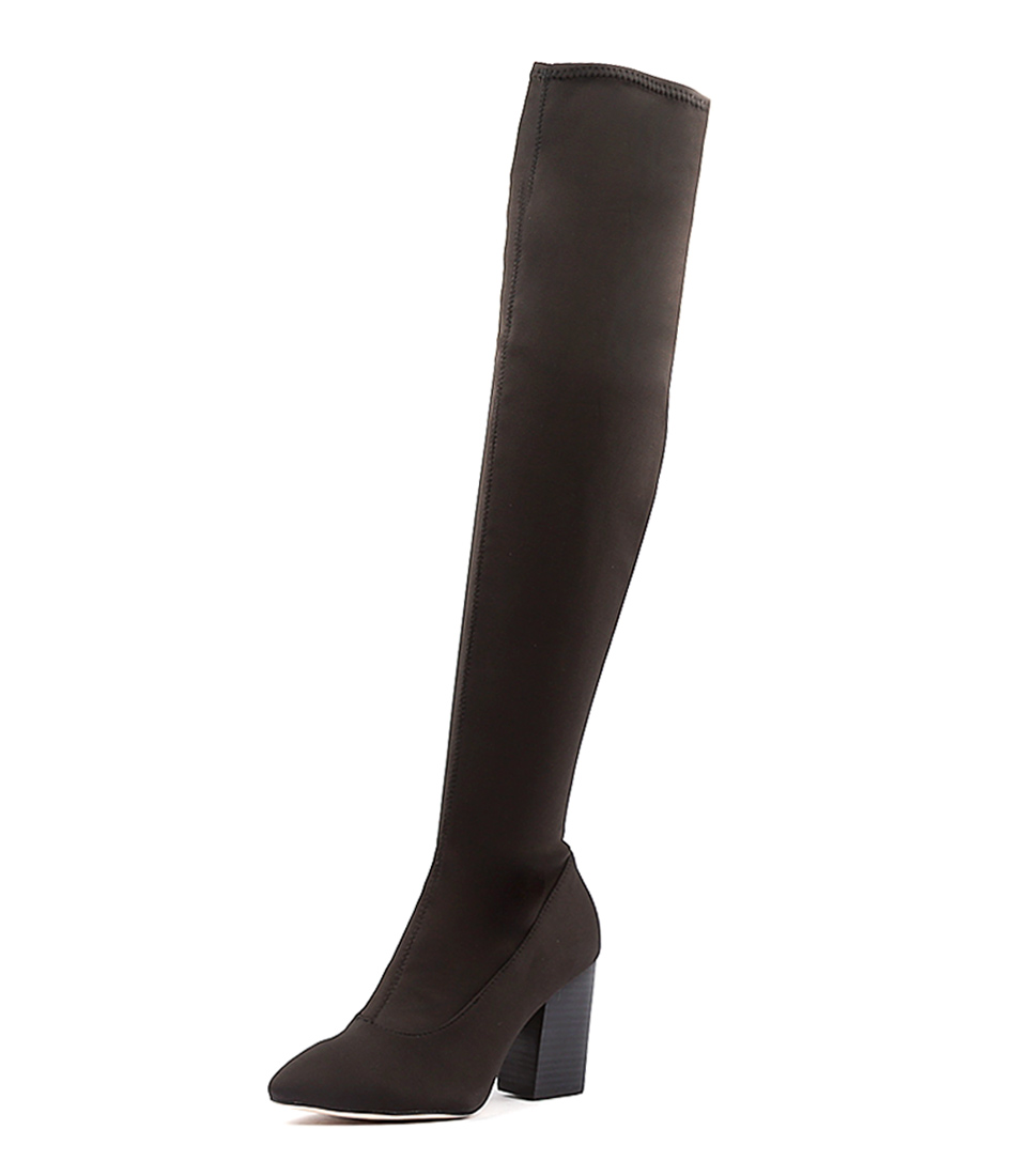 Mollini Moorella Black Long Boots