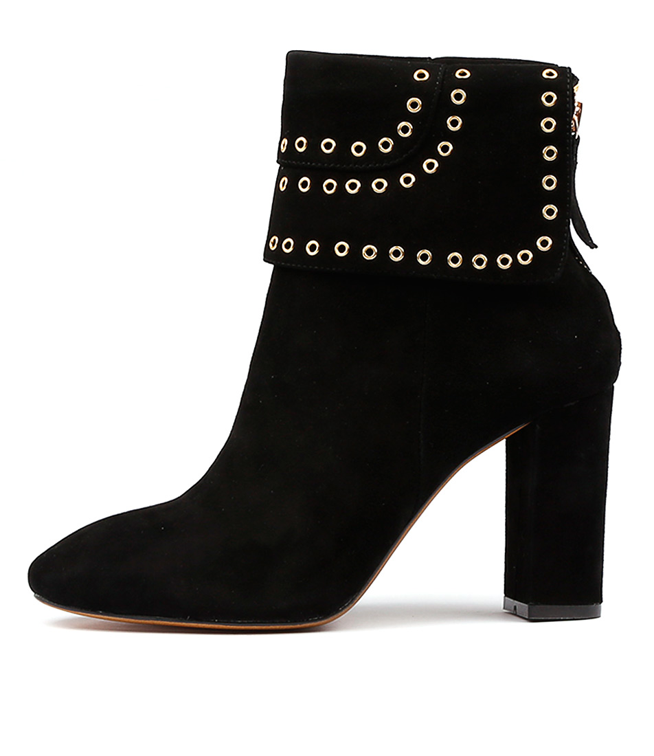 Buy Mollini Prattle Black Ankle Boots online with free shipping