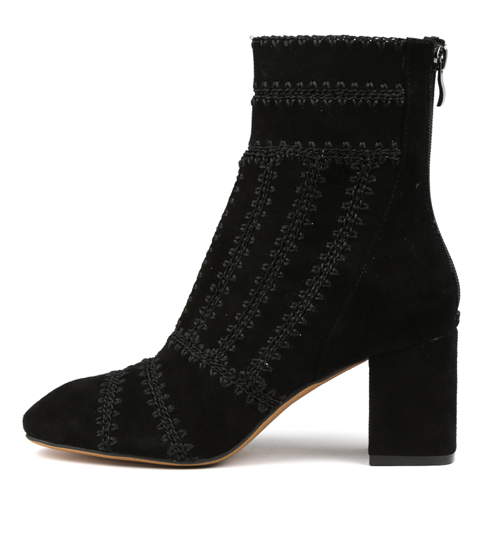 Buy Mollini Shuffle Black Dress Ankle Boots online with free shipping