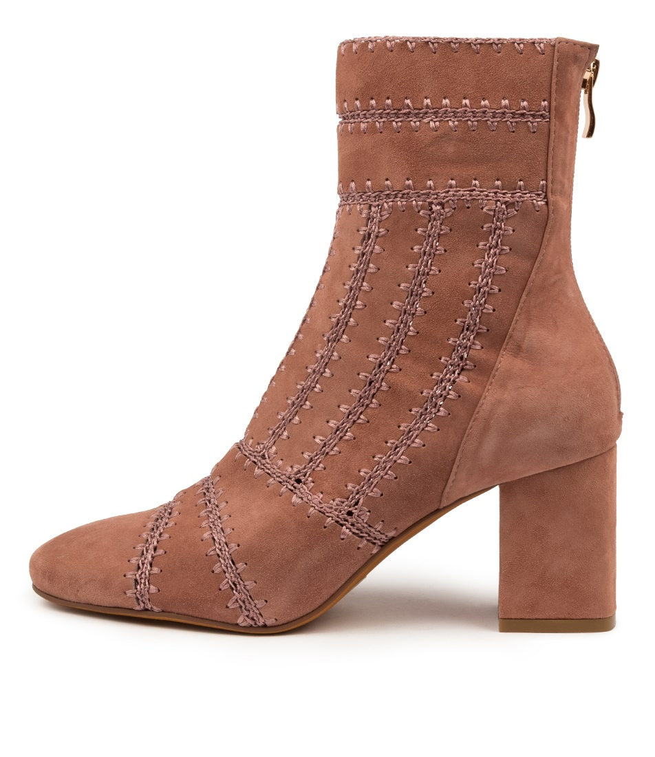 Buy Mollini Shuffle Blush Ankle Boots online with free shipping
