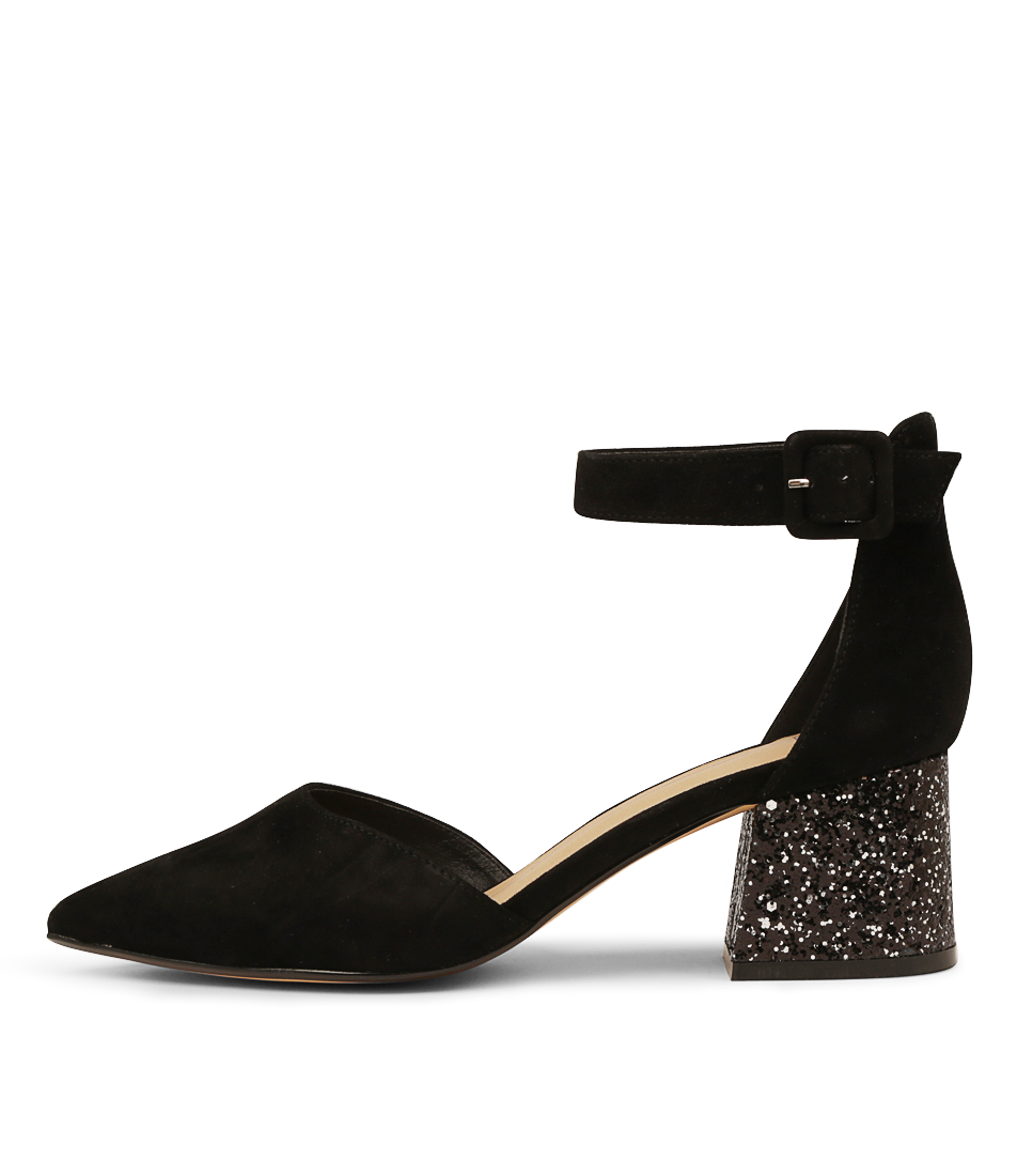 Buy Mollini Raems Black Silver Gl High Heels online with free shipping