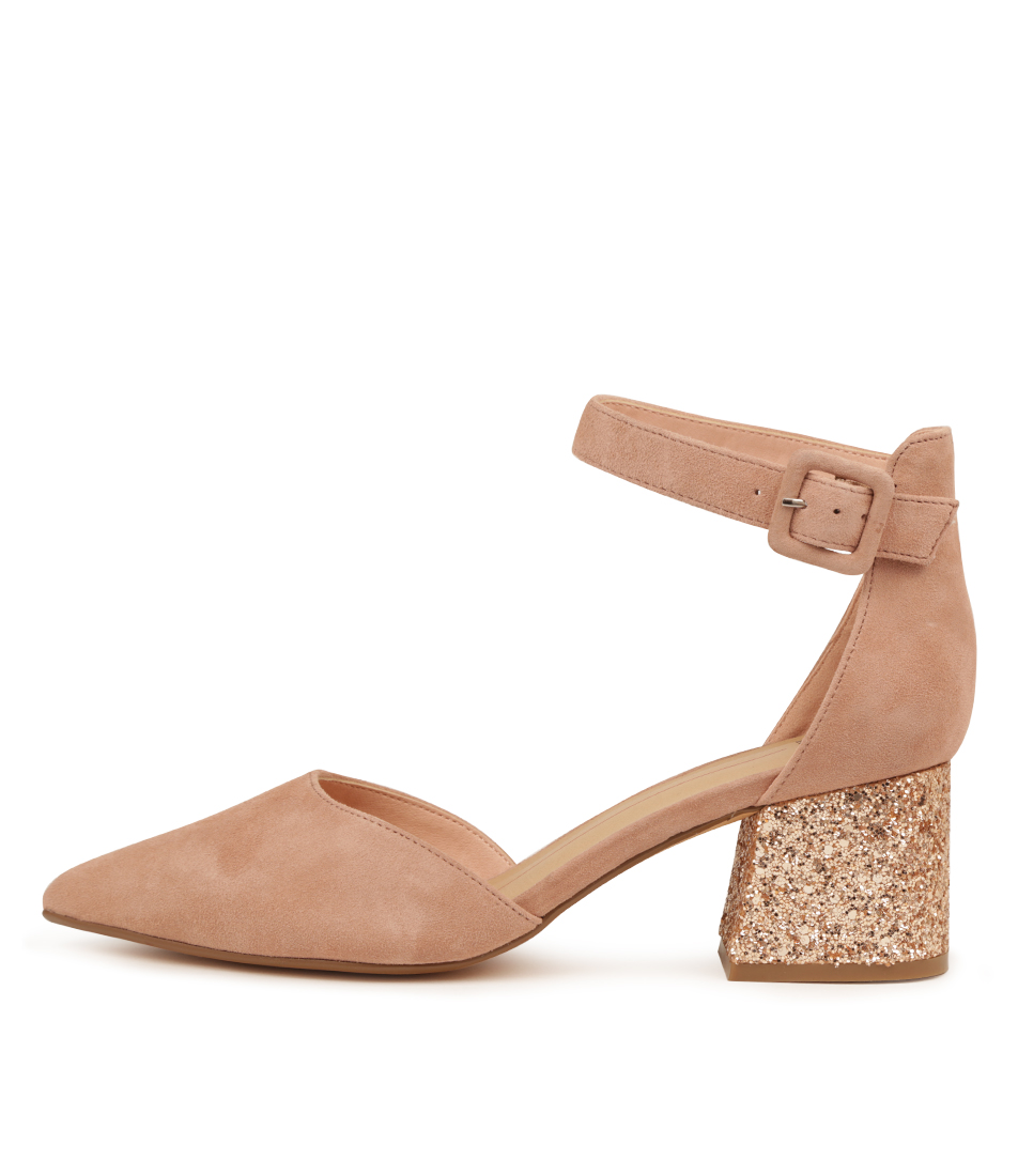 Buy Mollini Raems Rose Rose Gold High Heels online with free shipping