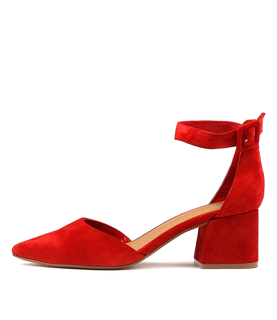 Mollini Raems Red Heeled Shoes