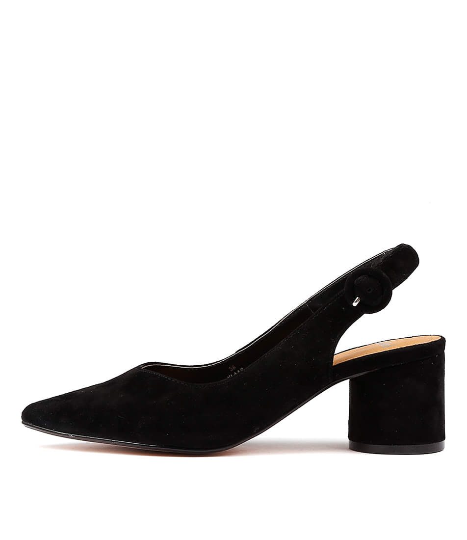 buy Mollini Klaas Black Heeled Shoes shop Mollini  online