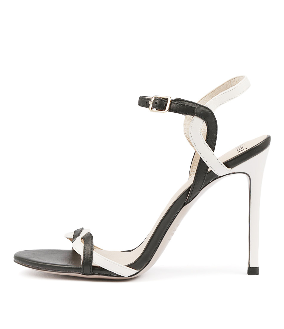 Buy Mollini Deloise Black White High Heels online with free shipping