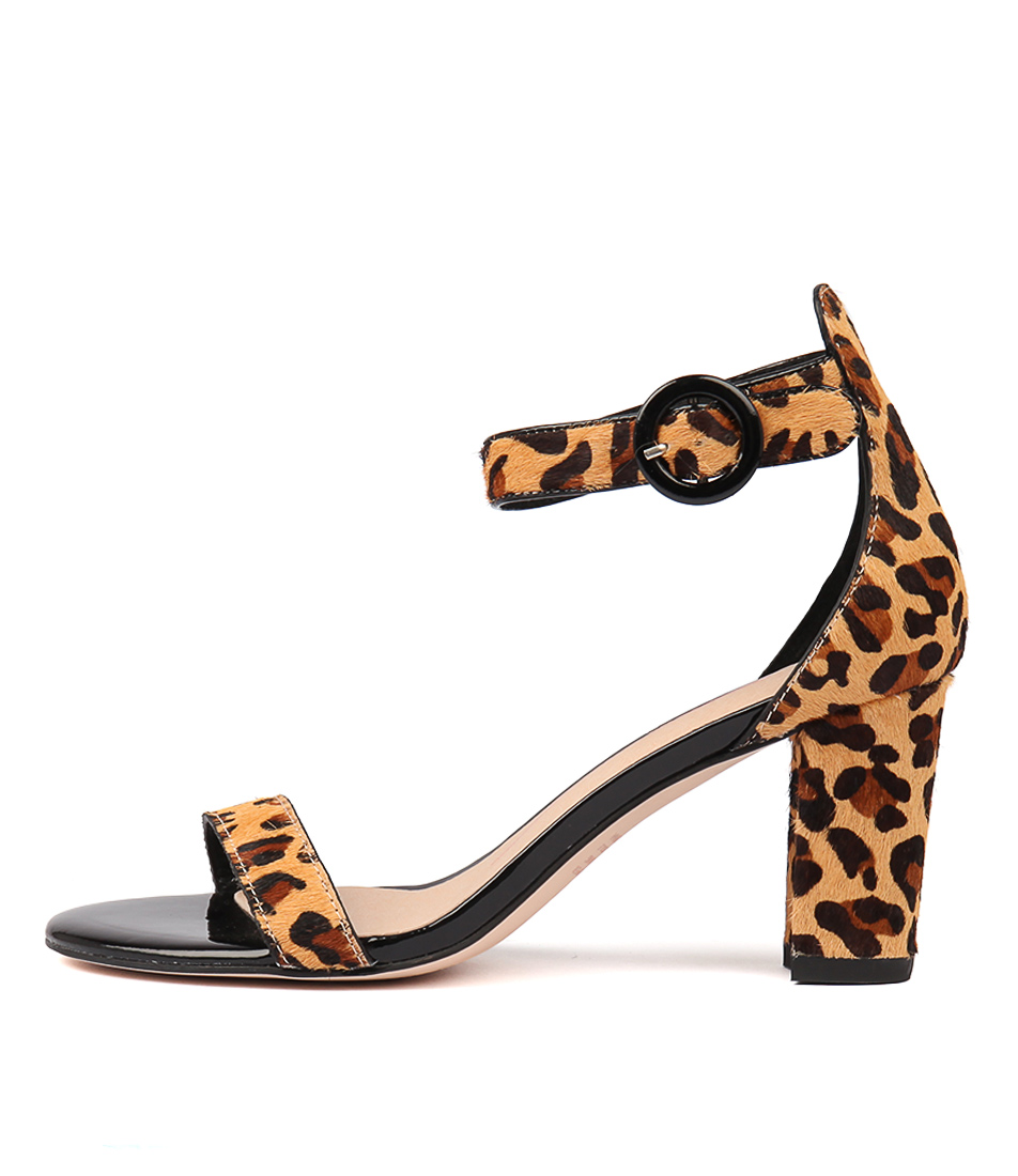 Buy Mollini Goldia Ocelot Heeled Sandals online with free shipping