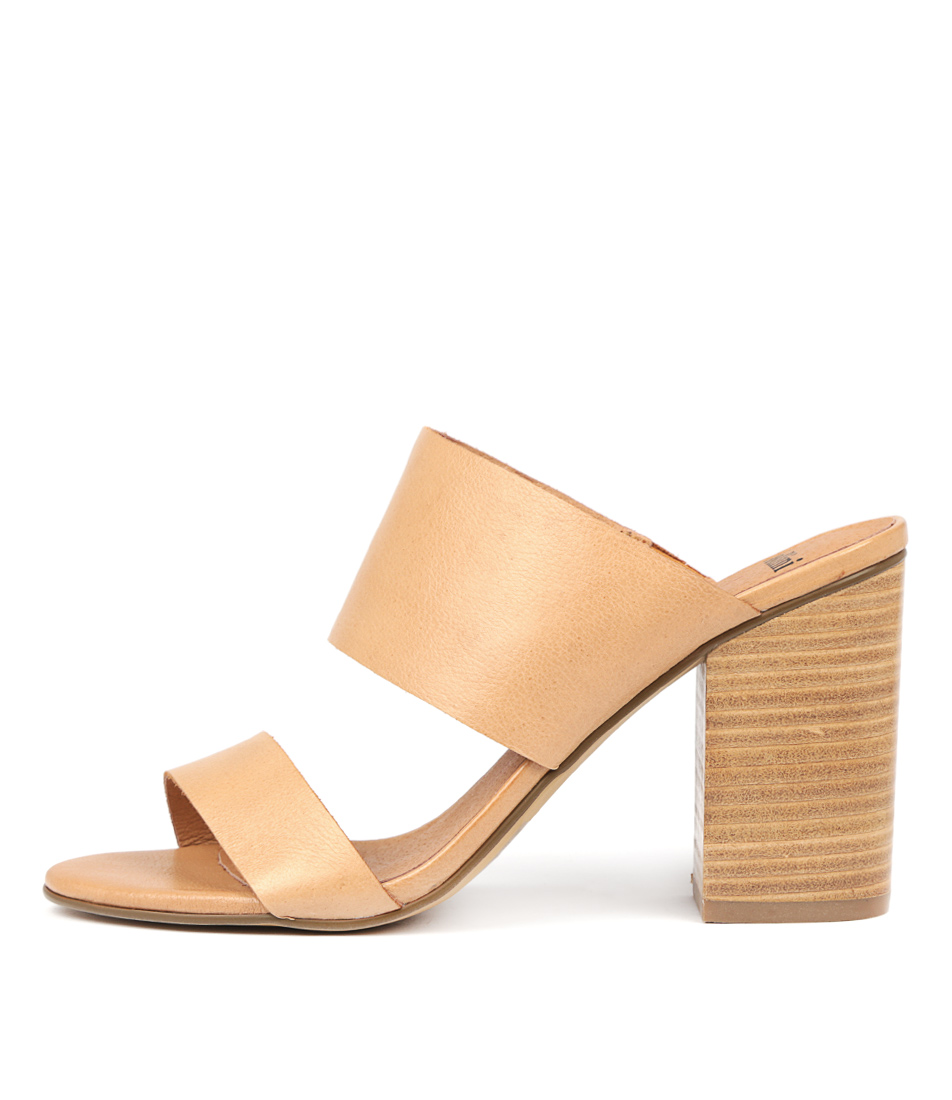 Buy Mollini Oasian Tan Heeled Sandals online with free shipping
