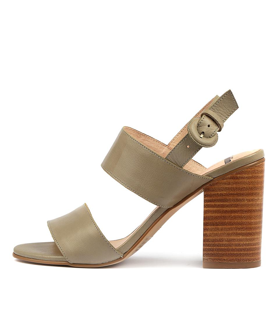Buy Mollini Oline Khaki Heeled Sandals online with free shipping