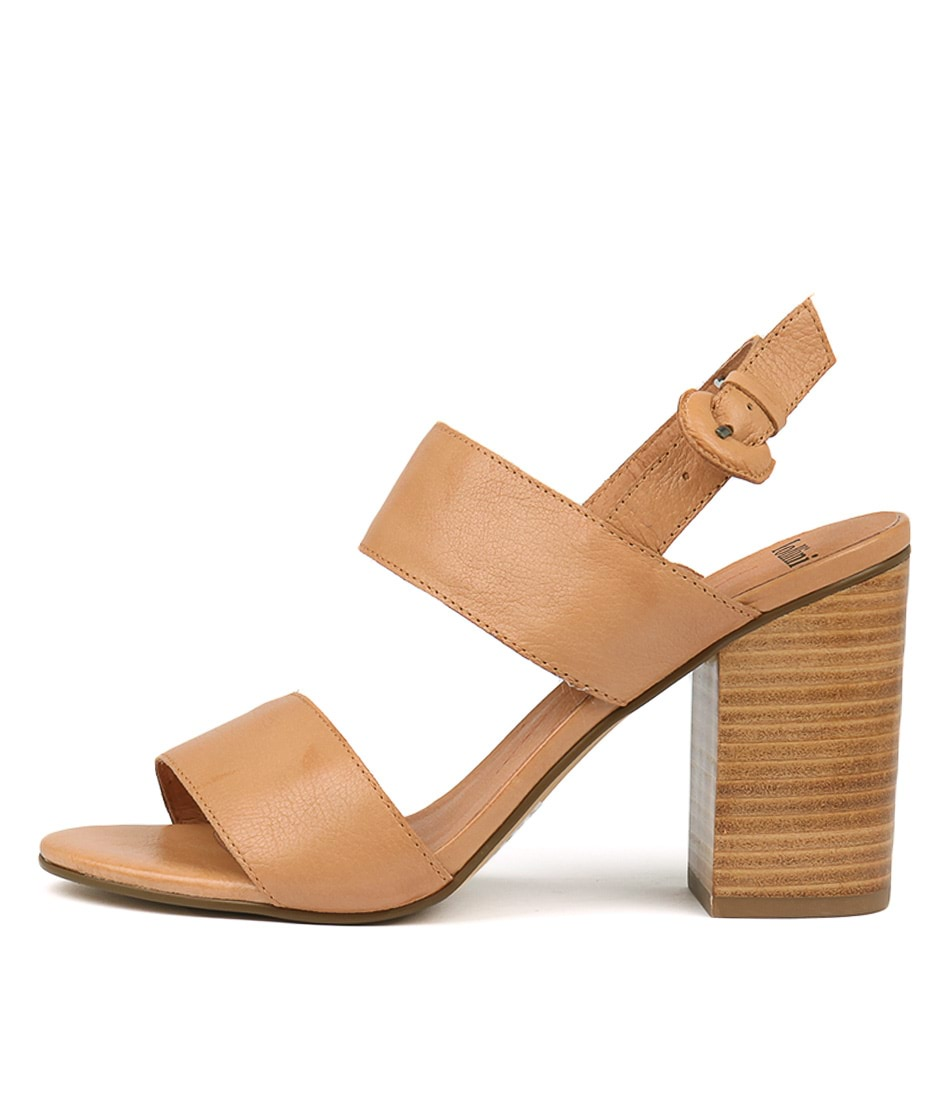Buy Mollini Oline Tan Heeled Sandals online with free shipping