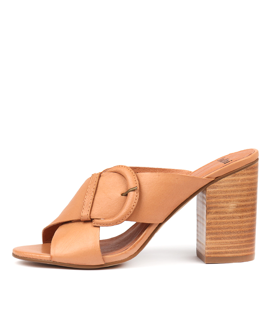 Buy Mollini Osie Tan Heeled Sandals online with free shipping