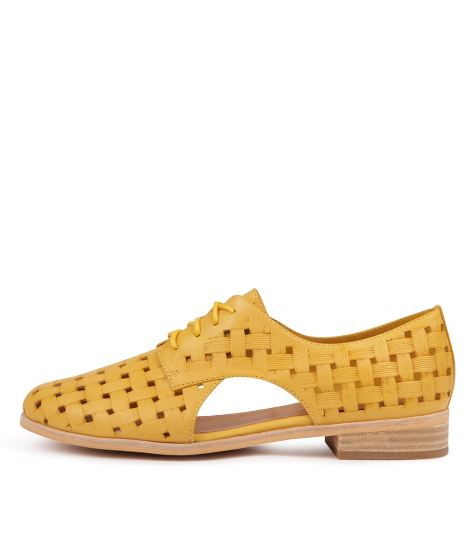 Buy Mollini Quibilah Yellow Flats online with free shipping