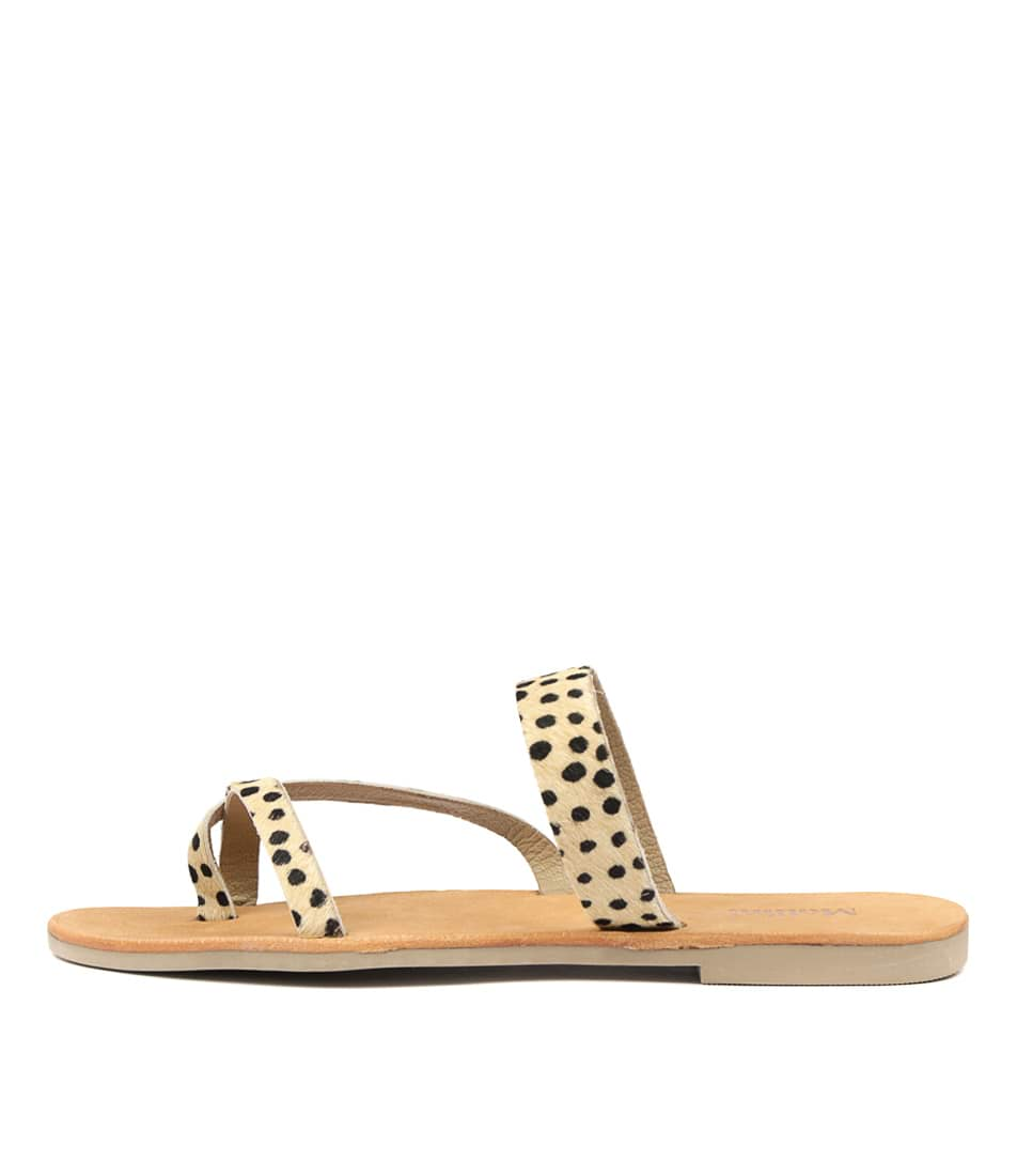 Buy Mollini Juliet Leopard Flat Sandals online with free shipping