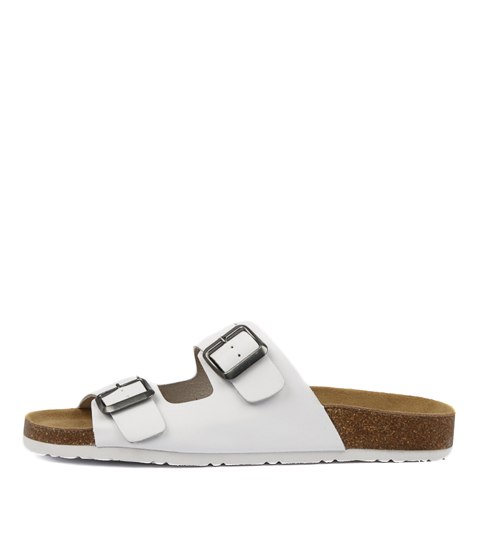 Buy Mollini Roppi White Flat Sandals online with free shipping
