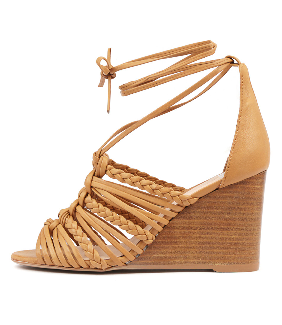 Buy Mollini Eloy Tan Natural Heel Heeled Sandals online with free shipping