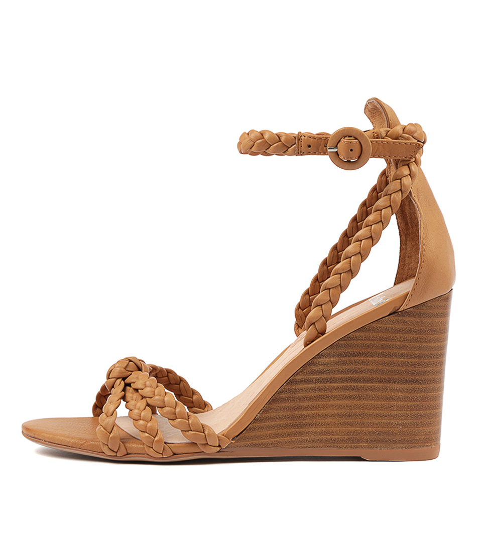 Buy Mollini Emry Tan Natural Heel Heeled Sandals online with free shipping