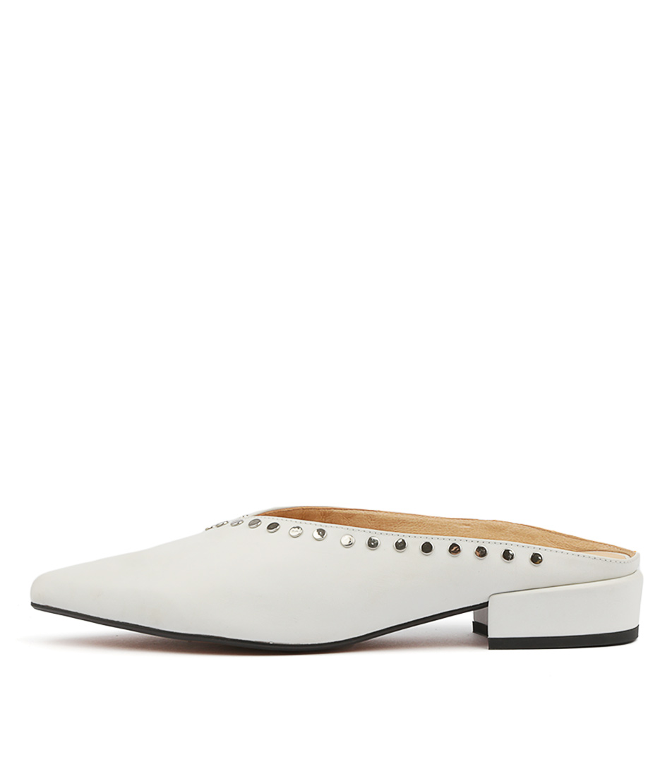 Buy Mollini Eola White Flat Sandals online with free shipping
