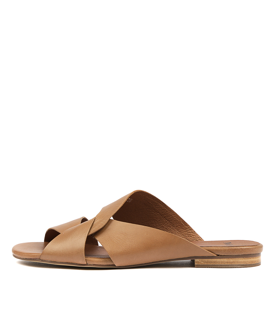 Buy Mollini Fios Tan Flat Sandals online with free shipping