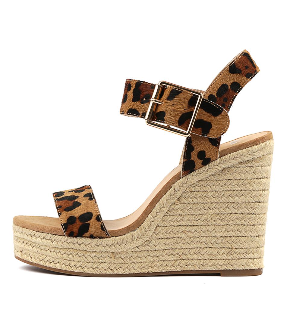 Buy Mollini Kierra Ocelot Heeled Sandals online with free shipping