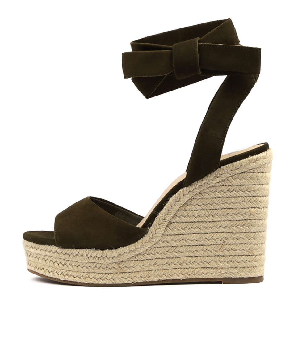 Buy Mollini Koby Khaki Heeled Sandals online with free shipping
