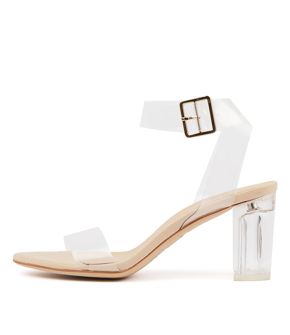 Buy Mollini Paisleena Clear Heeled Sandals online with free shipping