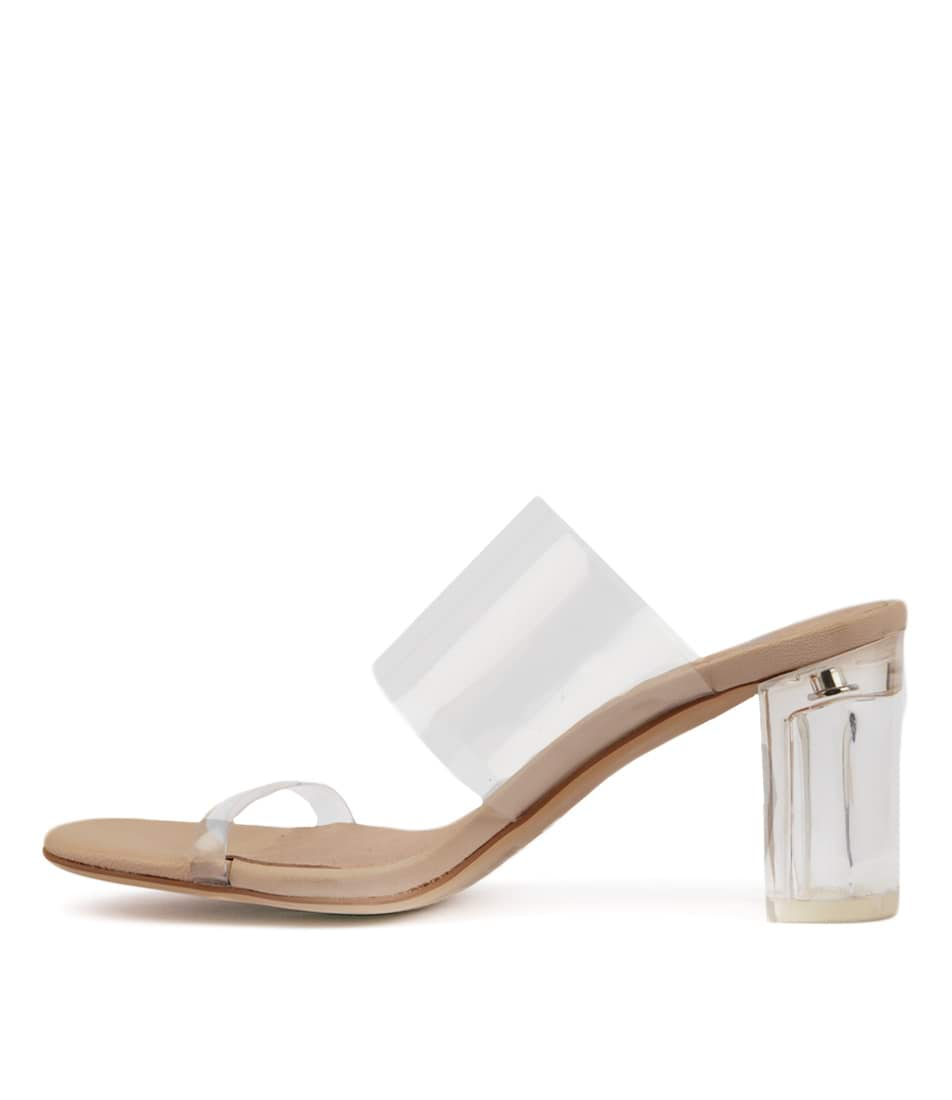 Buy Mollini Pete Clear Heeled Sandals online with free shipping