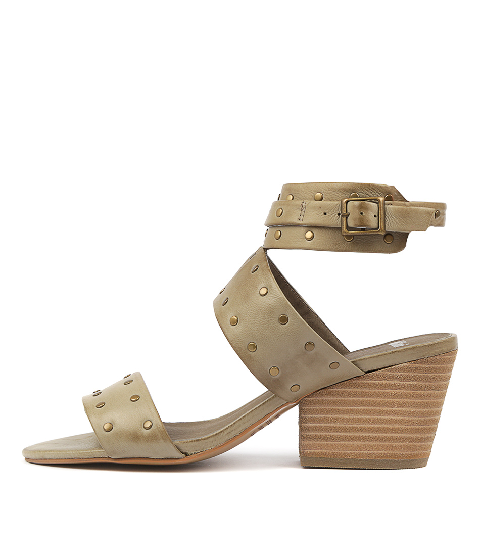 Buy Mollini Rosendo Khaki Heeled Sandals online with free shipping
