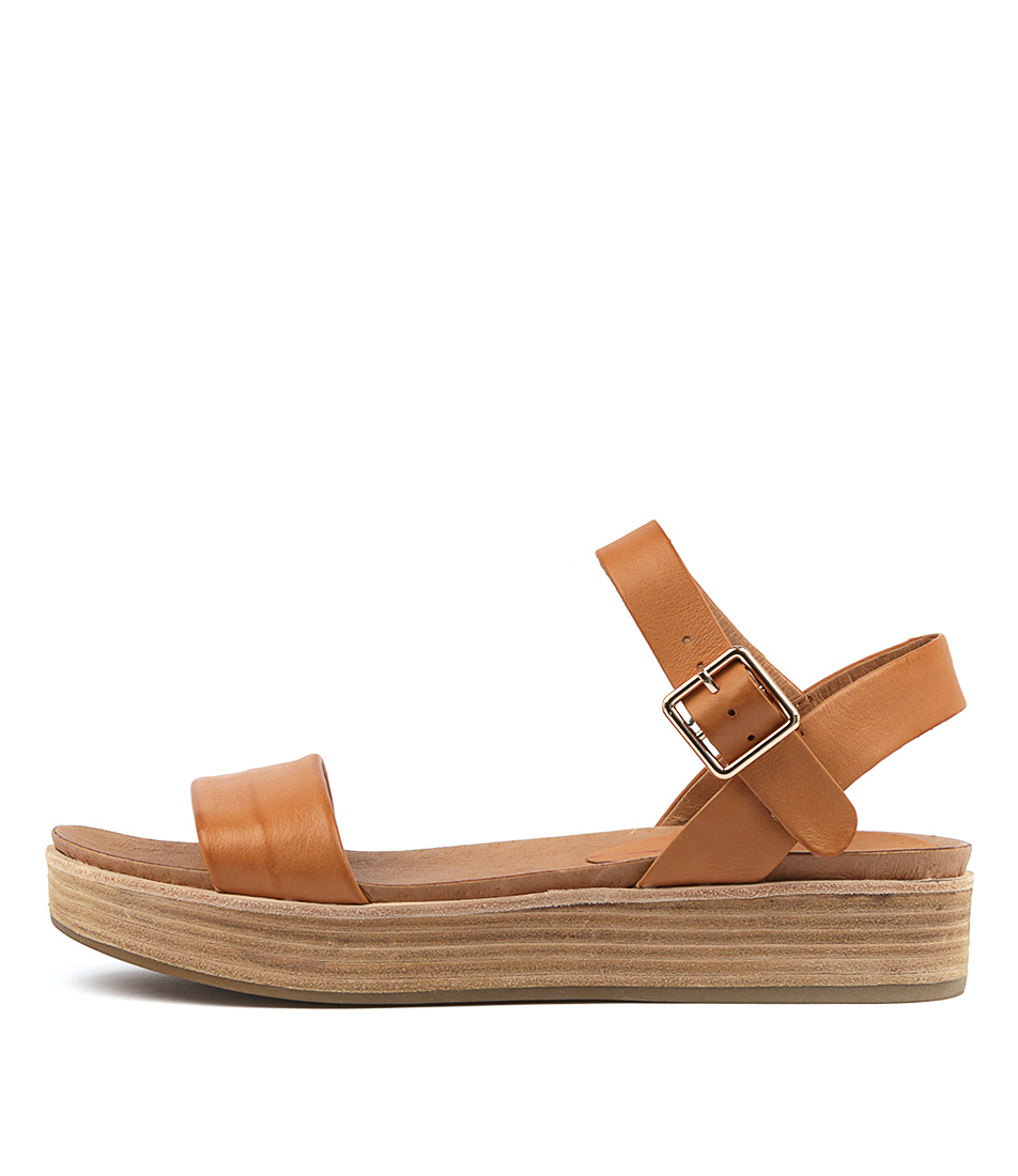 Buy Mollini Wayde Tan Flat Sandals online with free shipping