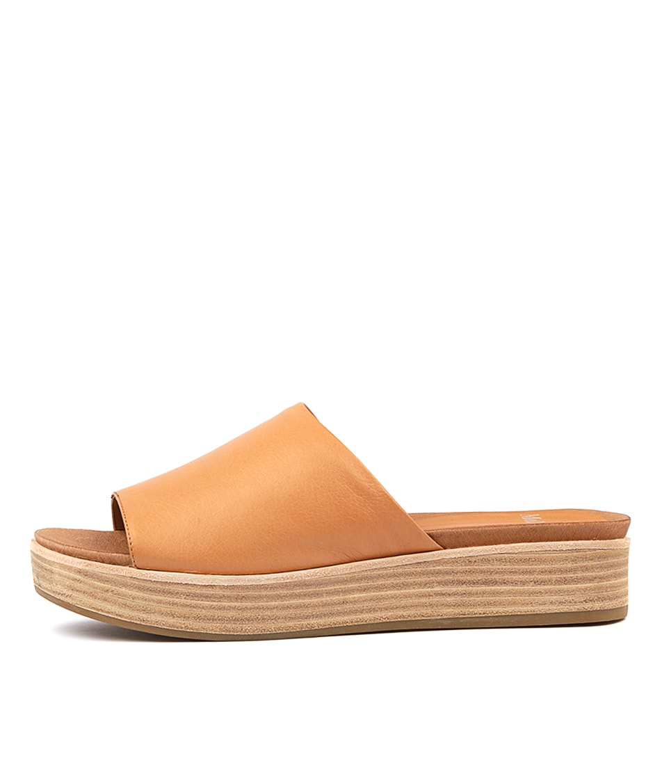 Buy Mollini Windell Tan Flat Sandals online with free shipping