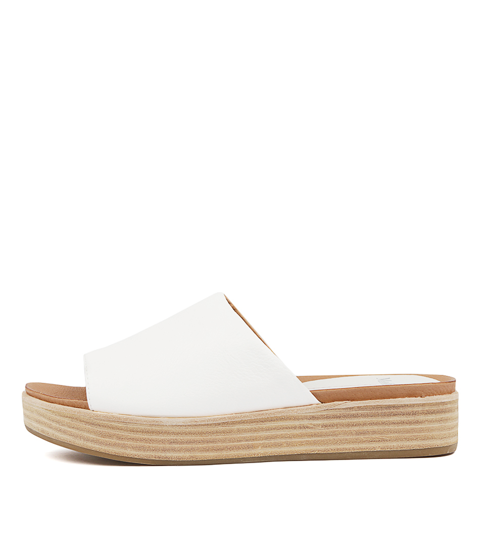 Buy Mollini Windell White Flat Sandals online with free shipping