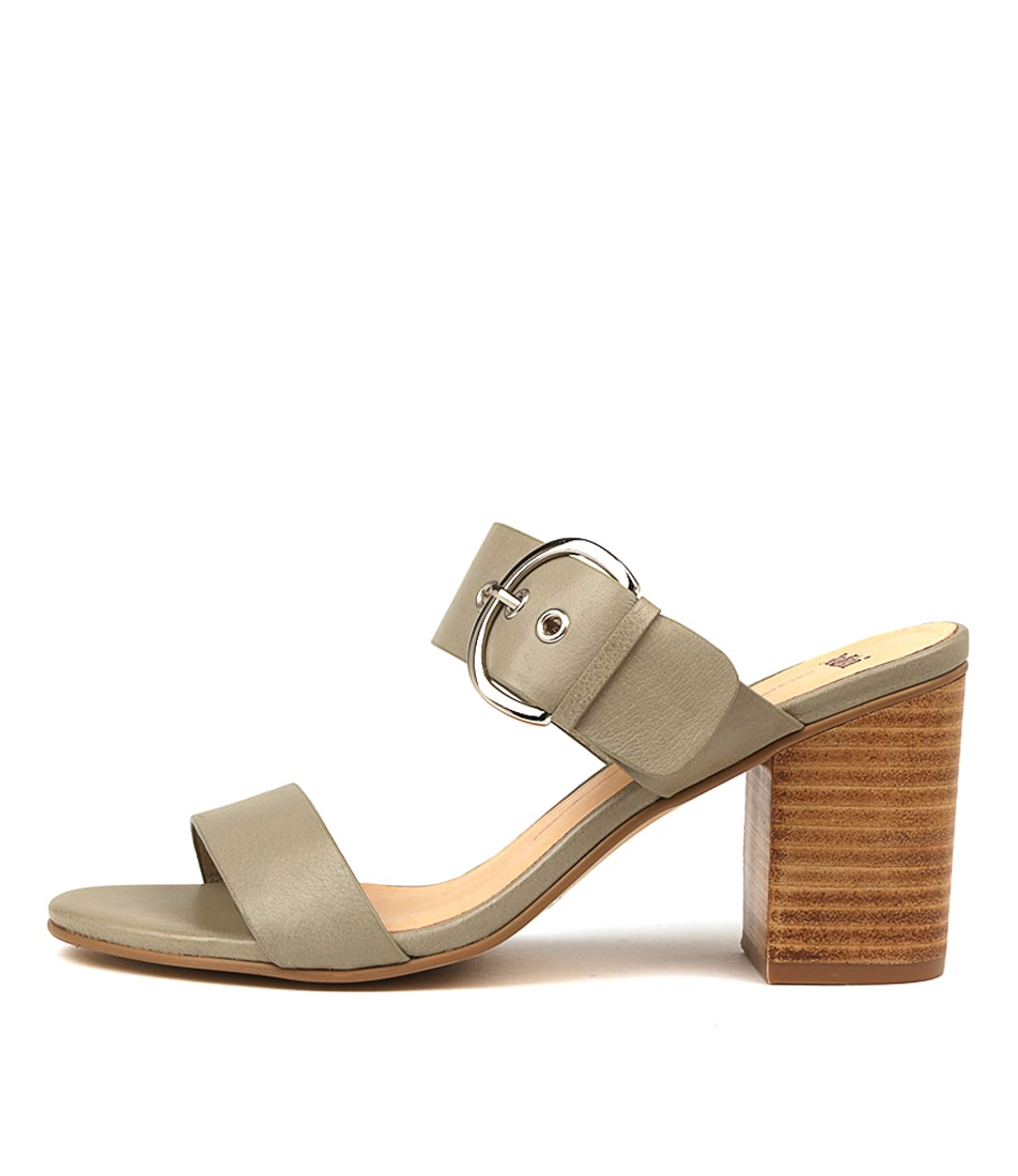 Buy Mollini Ancient Khaki Heeled Sandals online with free shipping