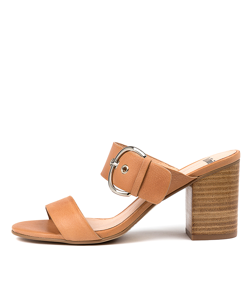 Buy Mollini Ancient Dk Tan Heeled Sandals online with free shipping