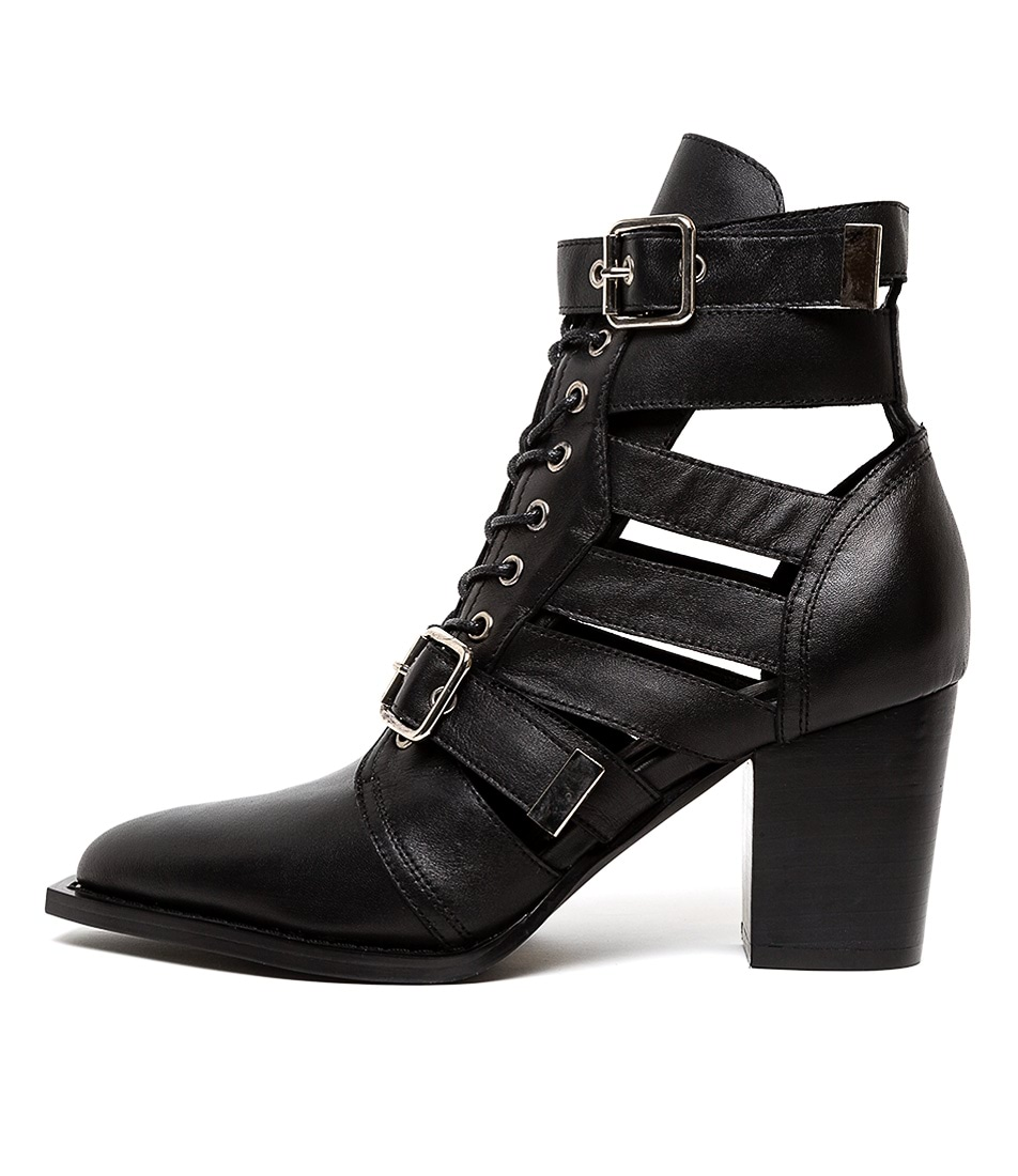 Buy Mollini Lindsaya Black Ankle Boots online with free shipping