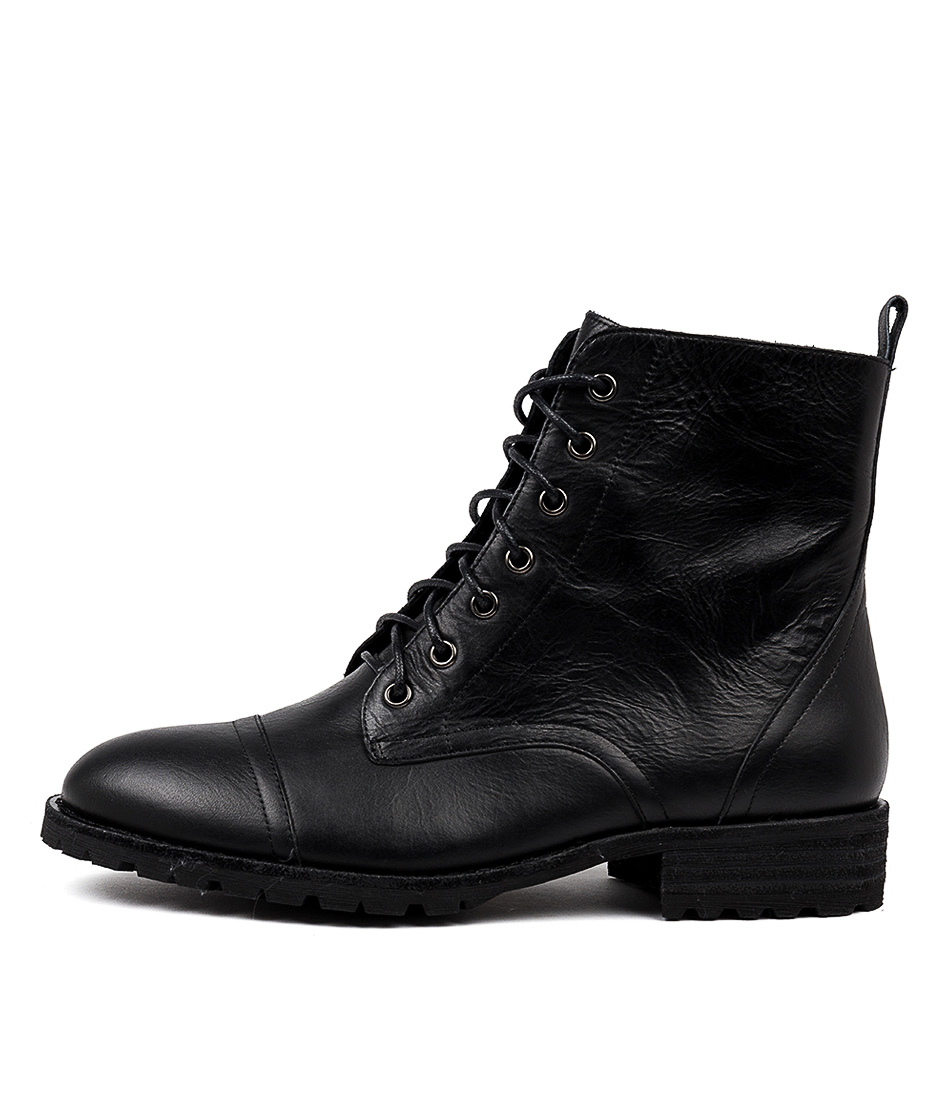 Buy Mollini Rayden Black Ankle Boots online with free shipping
