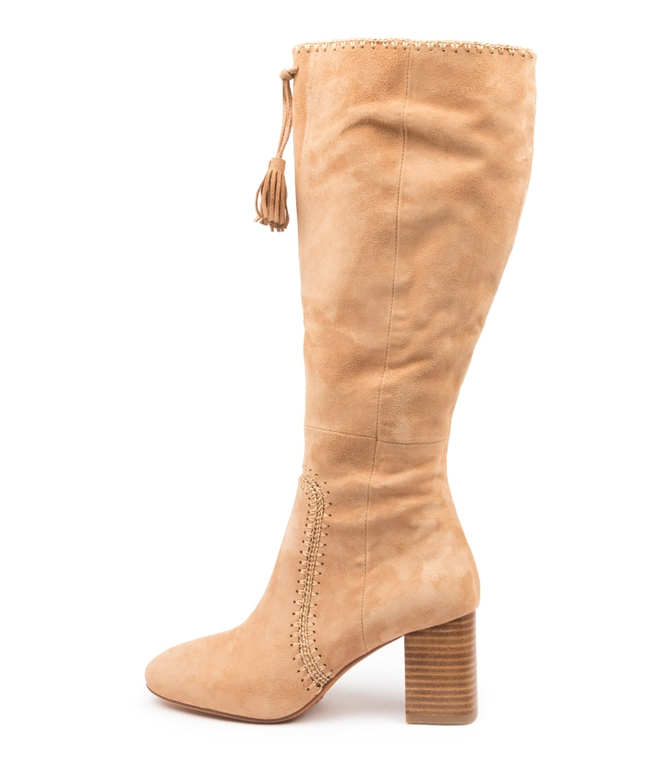 Buy Mollini Salome Sand Long Boots online with free shipping