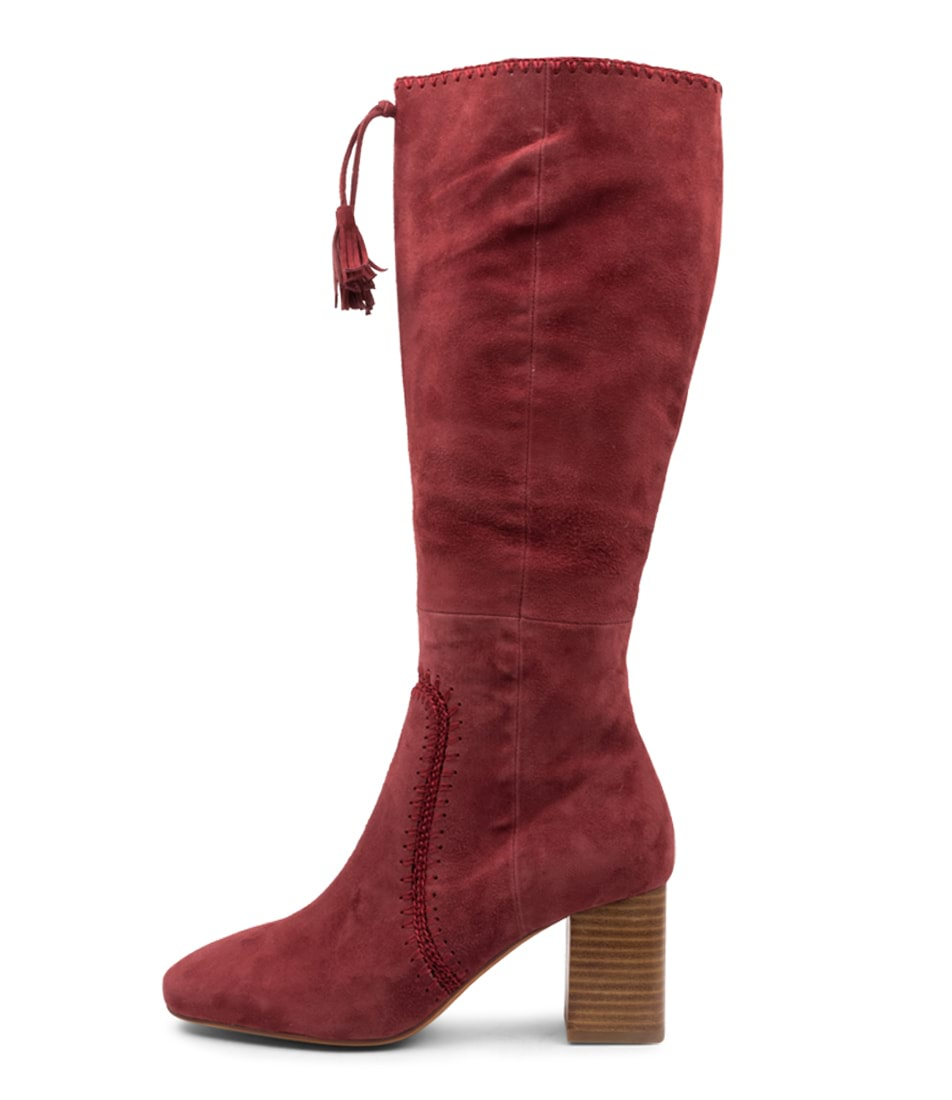 Buy Mollini Salome Dk Rose Long Boots online with free shipping