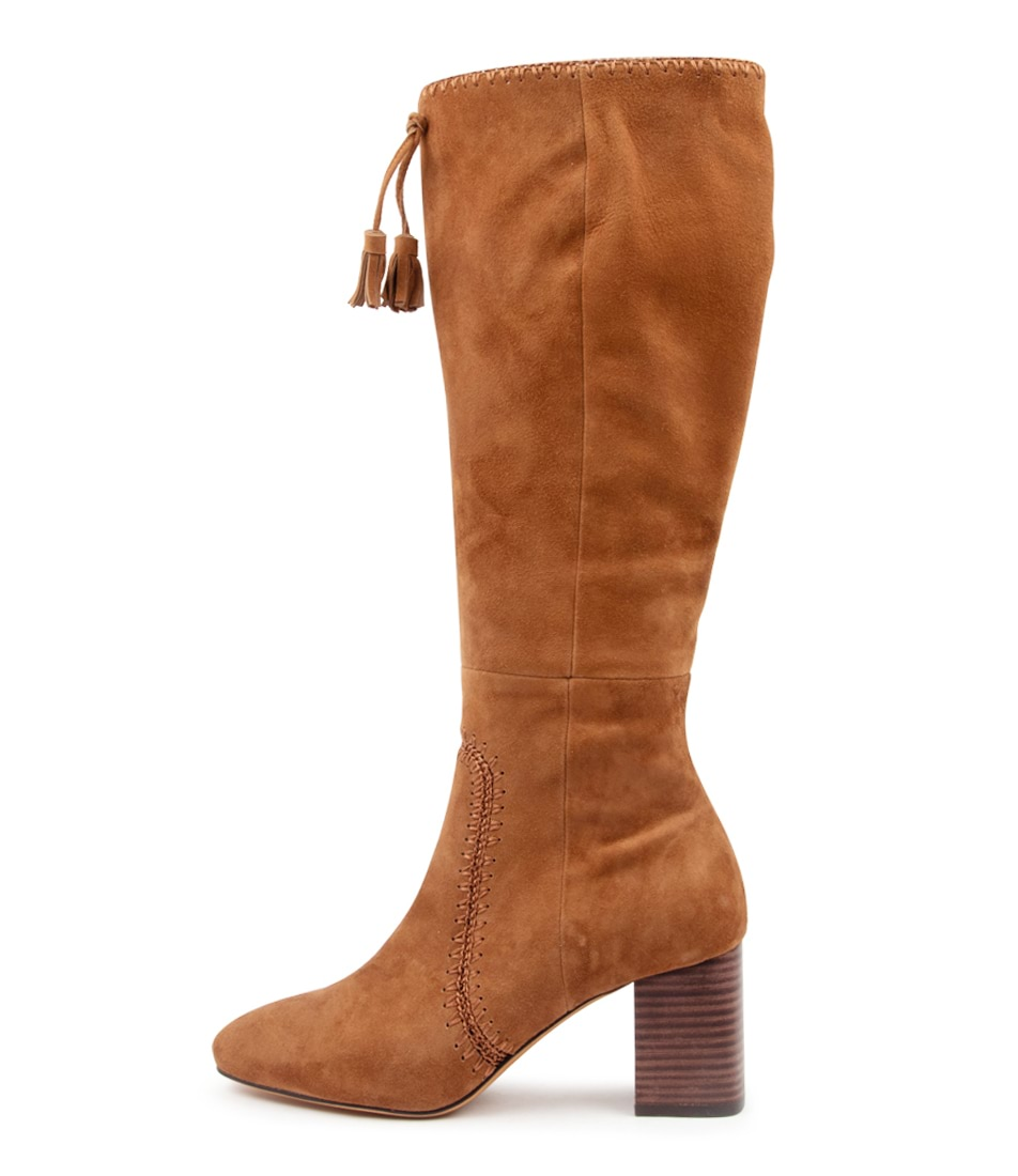 Buy Mollini Salome Walnut Long Boots online with free shipping