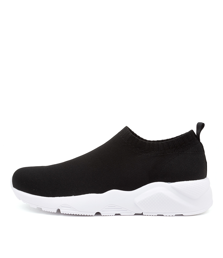 Buy Mollini Honies Black White Sole Sneakers online with free shipping