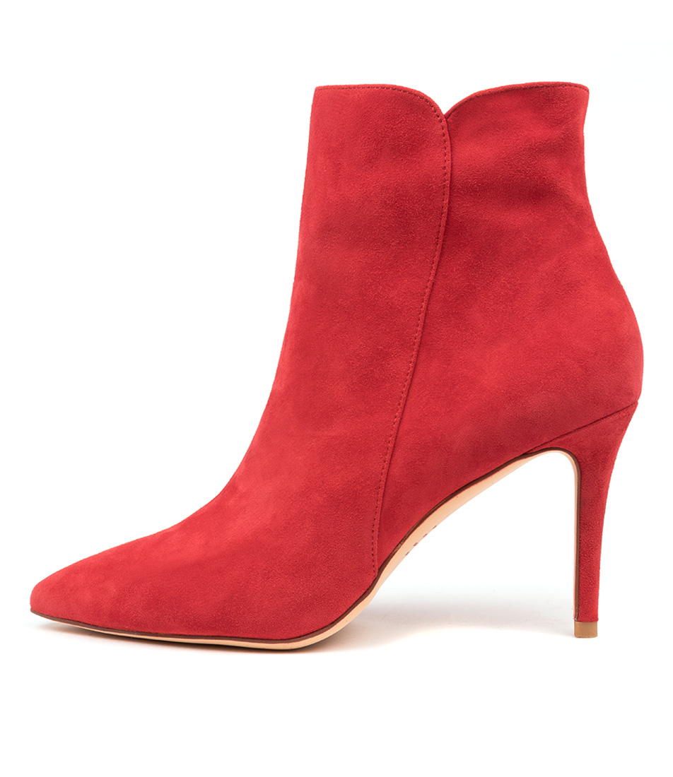 Buy Mollini Kianiss Red Ankle Boots online with free shipping