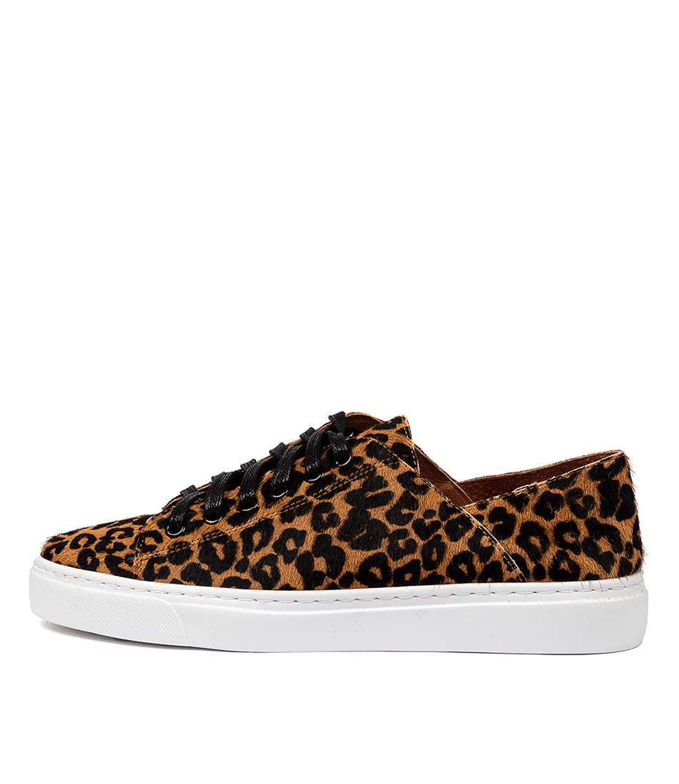 Buy Mollini Osky Tan Ocelot Sneakers online with free shipping