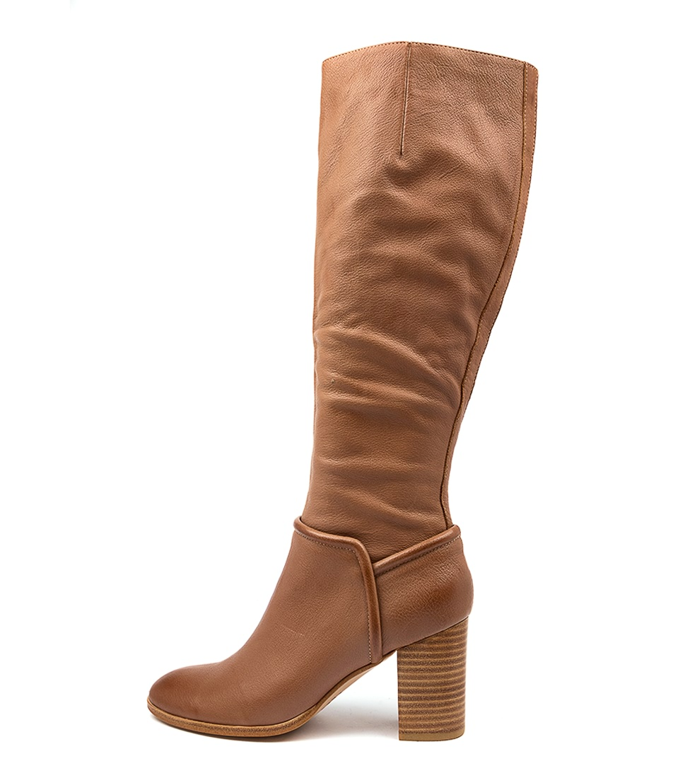 Buy Mollini Alvinass Mo Cognac Long Boots online with free shipping