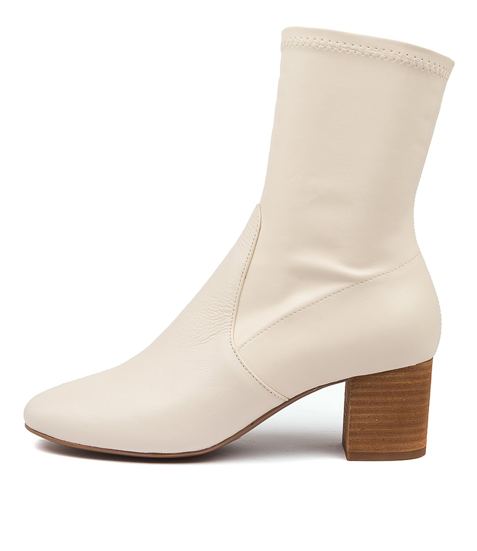 Buy Mollini Cabre Mo White Ankle Boots online with free shipping